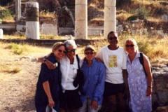 Ephesus, Turkey, Barbara, Cris Williamson, Teresa Trull, Karen Williams, Tam Martin.