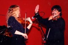 Barbara with Dave Balakrishnan.